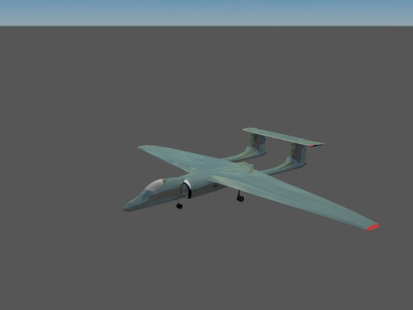 3D m-17 stratosfera plane aircraft model