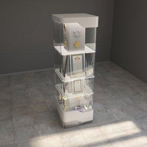 3D model showcase modern design