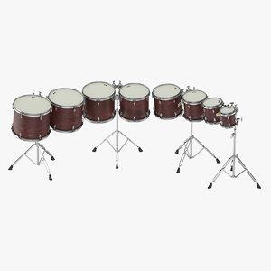 percussion 3D model