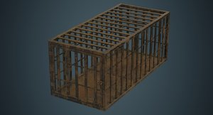cage contains 1c model