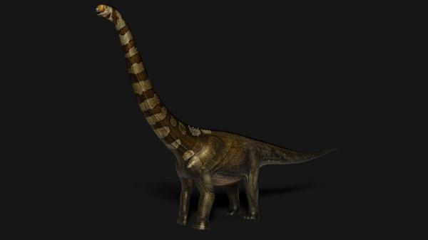 3D model animal dinosaurs
