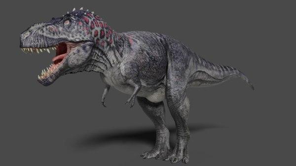 tyrannosaurus rex dinosaurs dino 3D model