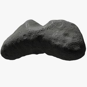 3D asteroid eros