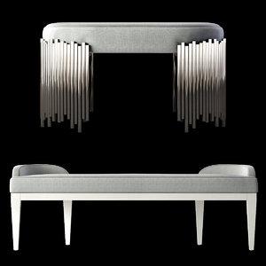 calista bench 3D