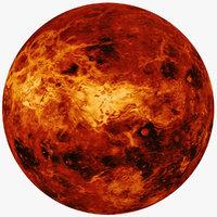 fictional alien planet sun 3D model