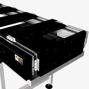 3D pocket conveyor