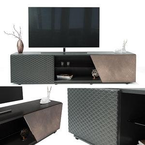 cattelan tv 3D model