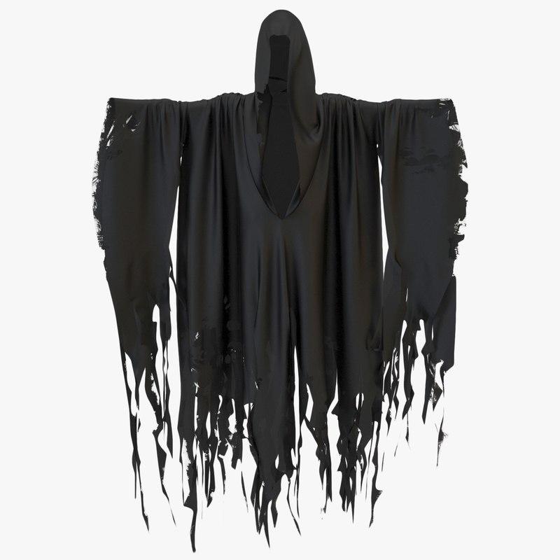 ghost cloak 3D model