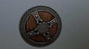 shield buckler 3D model