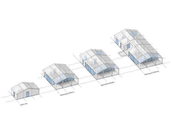 3D dubldom houses model