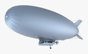 generic blimp airship v model