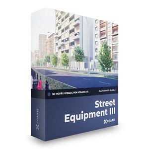 3D street equipment volume 113