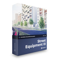 Street Equipment 3D Models Collection  Volume 113 FBX OBJ