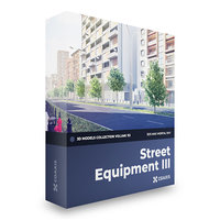3D model street equipment volume 113