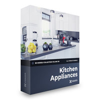 Kitchen Appliances 3D Models Collection  Volume 116