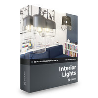 3D interior lights volume 114 model