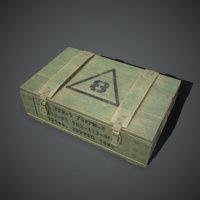 Army grenade box