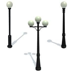 streetlight b c 3D model