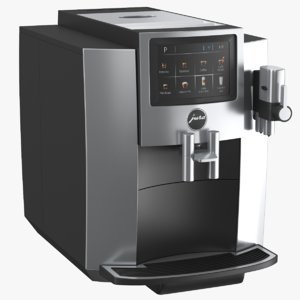 real coffee maker 3D model