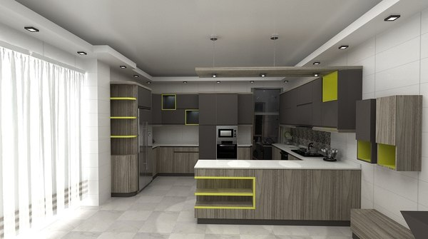 kitchen 3D