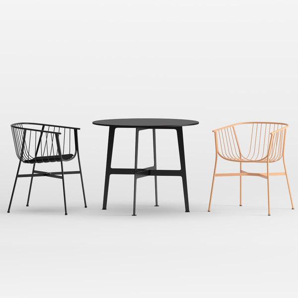 3D jeanette garden chair eileen