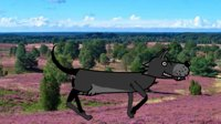 wolf CH quadruped puppet