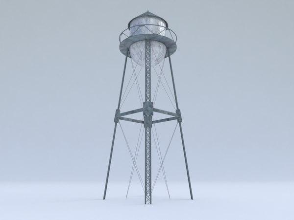 3D water standing tanker