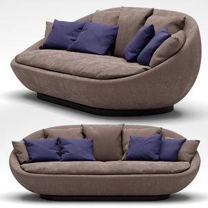 desiree lacoon sofa 3D model