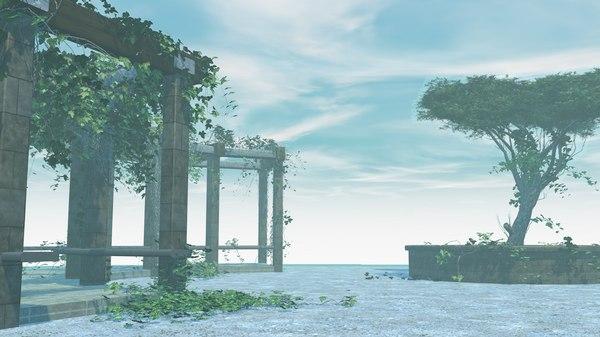garden ivy 3D model
