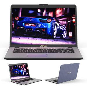 notebook asus vivobook pro 3D model