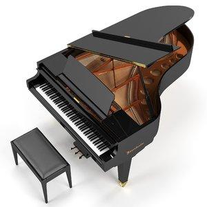 3D grand piano 200