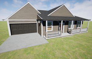 3D modular kit homes