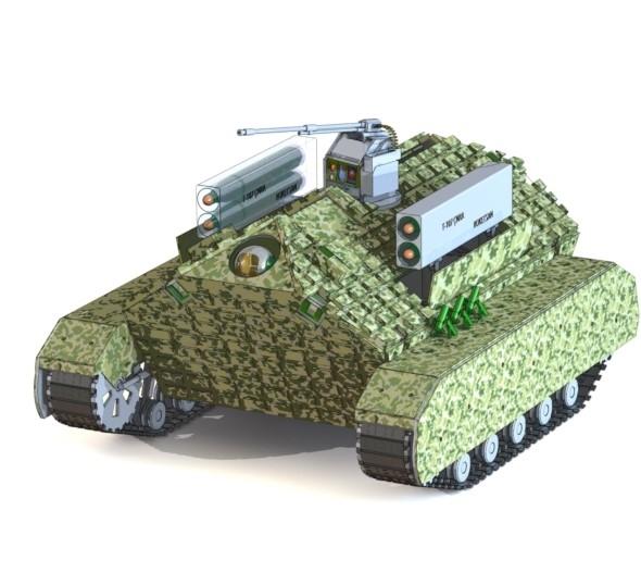 unmanned vehicle autonomous 3D