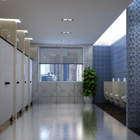Male Toilet Interior