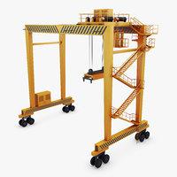 3D generic container crane 1