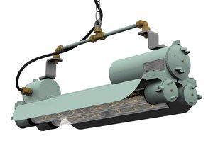 3D industrial flameproof striplight -