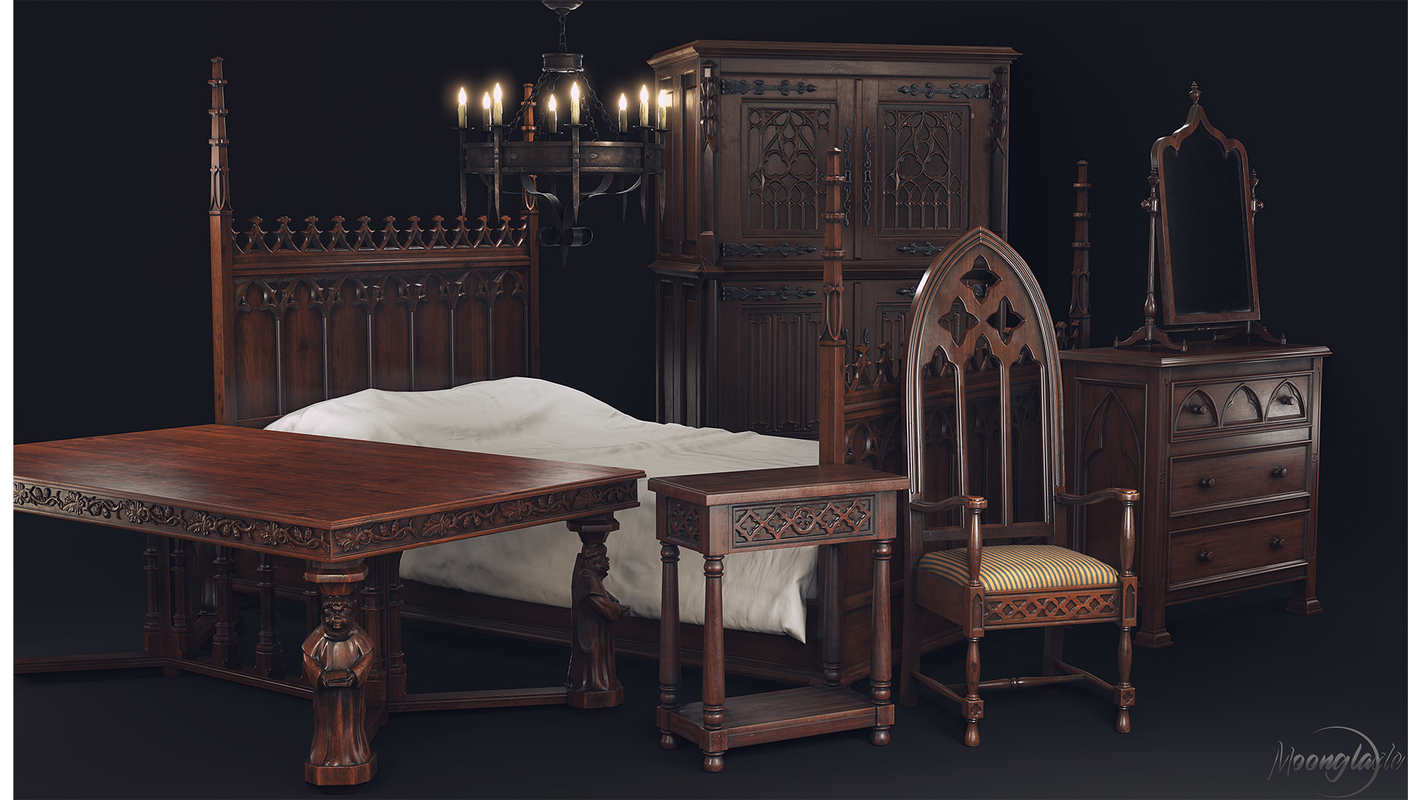 furniture gothic model