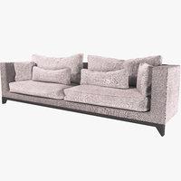3D sofa seat furniture