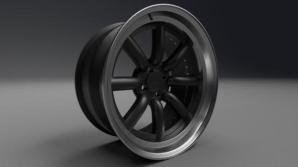 3D rotiform mlw rim model