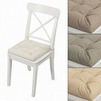 3D hoff pillow seat chair model