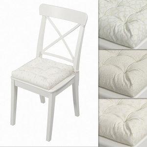3D hoff pillow seat chair