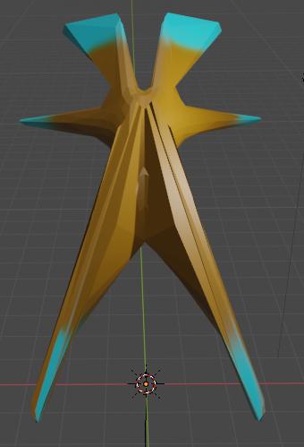 alien space 3D model