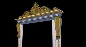 3D decorative portal 02 model