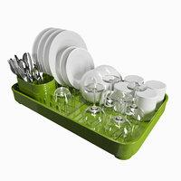 3D dish dryers