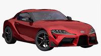 Toyota Supra 2020 (Low Interior)