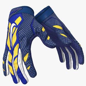 football handschuhe hands 3D model