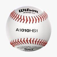 Wilson Baseball Ball Realistic 3D