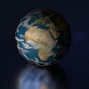 planet earth 3D