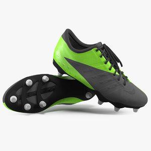 3D football cleats