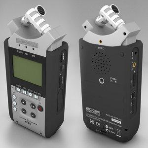 3D zoom handy recorder h4n